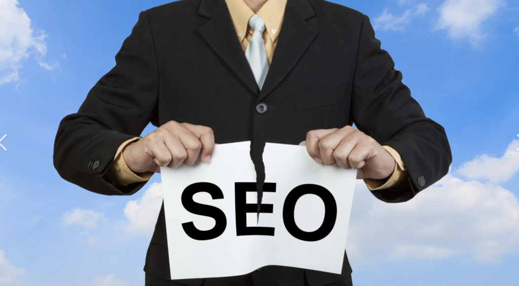 What are some good design choices for a website from a search engine optimization perspective?